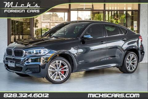 2015 BMW X6 for sale at Mich's Foreign Cars in Hickory NC
