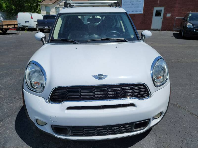 2012 MINI Cooper Countryman for sale at Beaulieu Auto Sales in Cleveland OH