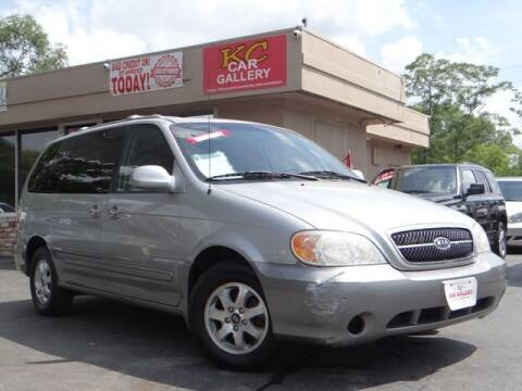 2004 Kia Sedona for sale at KC Car Gallery in Kansas City KS