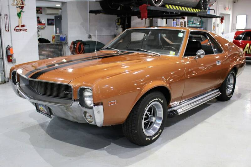 1969 AMC AMX for sale at Great Lakes Classic Cars & Detail Shop in Hilton NY