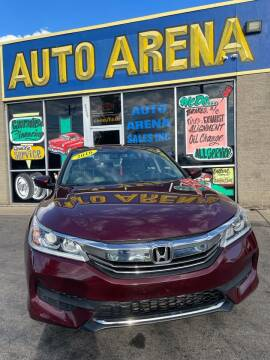 2016 Honda Accord for sale at Auto Arena in Fairfield OH
