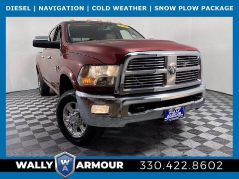 2012 RAM Ram Pickup 3500 for sale at Wally Armour Chrysler Dodge Jeep Ram in Alliance OH