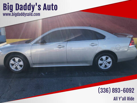 2009 Chevrolet Impala for sale at Big Daddy's Auto in Winston-Salem NC