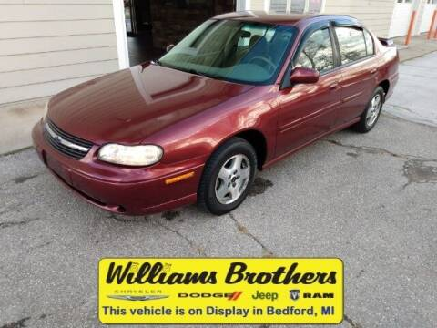 2003 Chevrolet Malibu for sale at Williams Brothers - Pre-Owned Monroe in Monroe MI