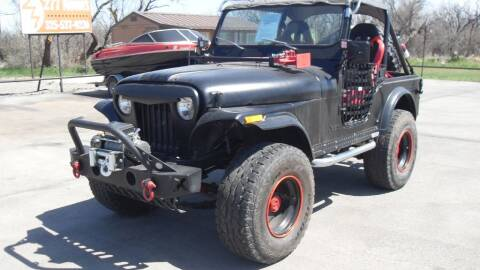 1977 Jeep CJ-5 for sale at 277 Motors in Hawley TX