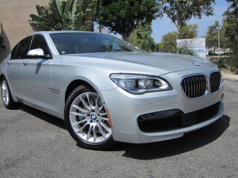 2015 BMW 7 Series for sale at ORANGE COUNTY AUTO WHOLESALE in Irvine CA