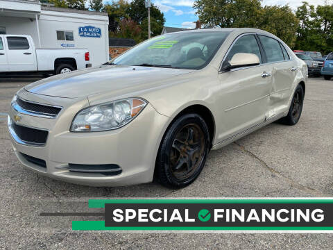 2010 Chevrolet Malibu for sale at LA Auto & RV Sales and Service in Lapeer MI