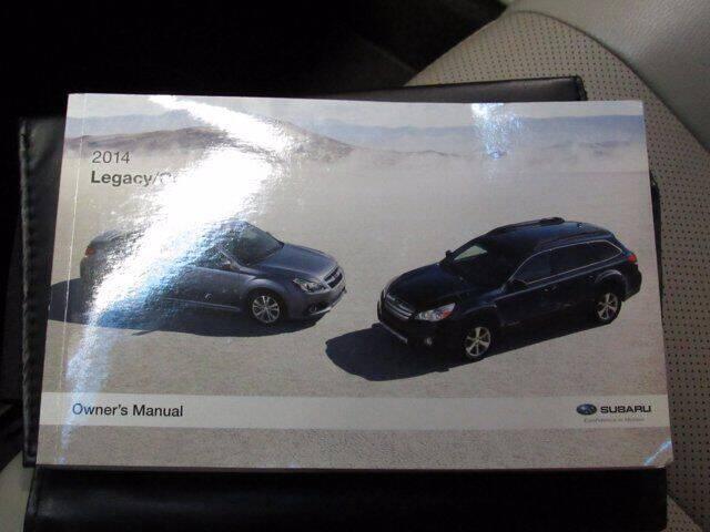 2014 Subaru Outback AWD 2.5i Limited 4dr Wagon - Essington PA