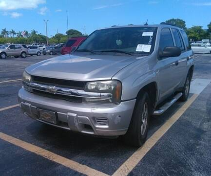 2005 Chevrolet TrailBlazer for sale at Goval Auto Sales in Pompano Beach FL