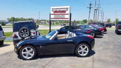2006 Pontiac Solstice for sale at Downing Auto Sales in Des Moines IA