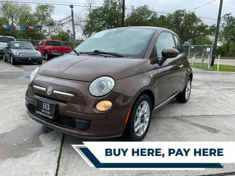 2013 FIAT 500 for sale at H3 MOTORS in Dickinson TX