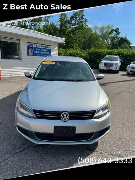 2013 Volkswagen Jetta for sale at Z Best Auto Sales in North Attleboro MA