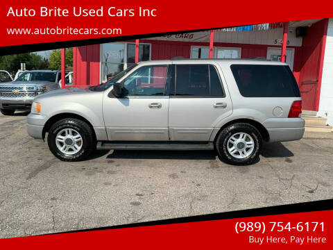 2003 Ford Expedition for sale at Auto Brite Used Cars Inc in Saginaw MI