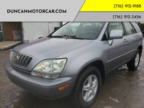 2002 Lexus RX 300 for sale at DuncanMotorcar.com in Buffalo NY