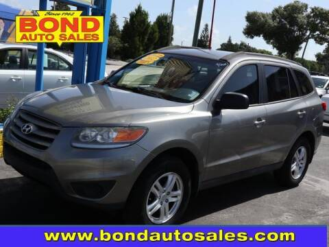 2012 Hyundai Santa Fe for sale at Bond Auto Sales in St Petersburg FL
