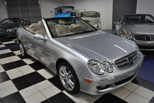 2009 Mercedes-Benz CLK CLK 350 2dr Convertible - Pompano Beach FL