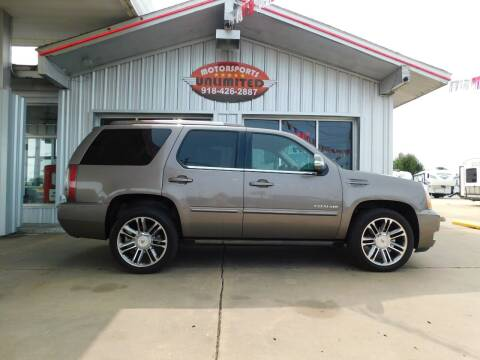 2013 Cadillac Escalade for sale at Motorsports Unlimited in McAlester OK