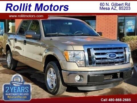 2012 Ford F-150 for sale at Rollit Motors in Mesa AZ
