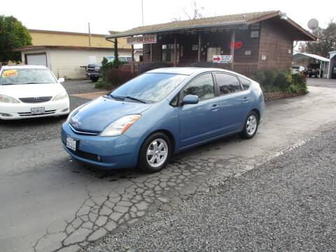 2007 Toyota Prius for sale at Manzanita Car Sales in Gridley CA