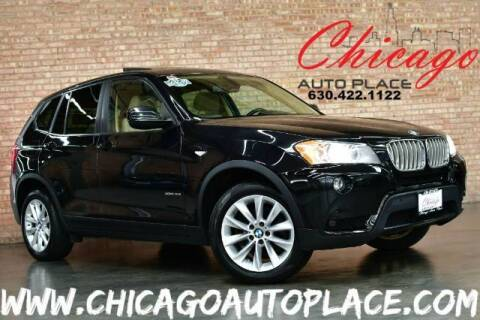 2011 BMW X3 for sale at Chicago Auto Place in Bensenville IL