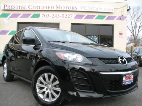 2011 Mazda CX-7 for sale at Prestige Certified Motors in Falls Church VA