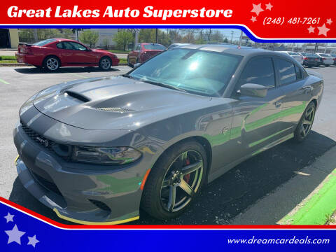 2019 Dodge Charger for sale at Great Lakes Auto Superstore in Pontiac MI