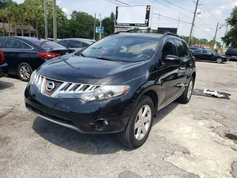 2009 Nissan Murano for sale at 4 Guys Auto in Tampa FL