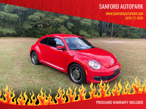 2012 Volkswagen Beetle for sale at Sanford Autopark in Sanford NC