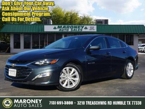 2019 Chevrolet Malibu for sale at Maroney Auto Sales in Humble TX