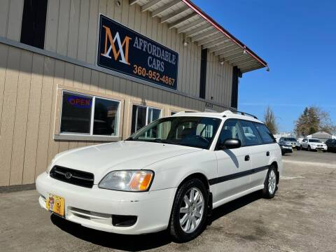 2000 Subaru Legacy for sale at M & A Affordable Cars in Vancouver WA