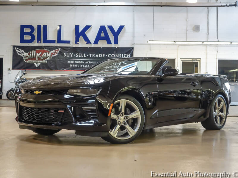 2017 Chevrolet Camaro for sale at Bill Kay Corvette's and Classic's in Downers Grove IL