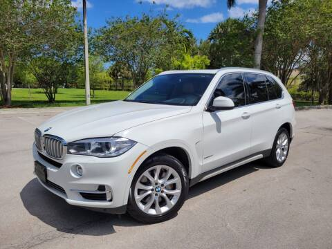 2015 BMW X5 for sale at FIRST FLORIDA MOTOR SPORTS in Pompano Beach FL