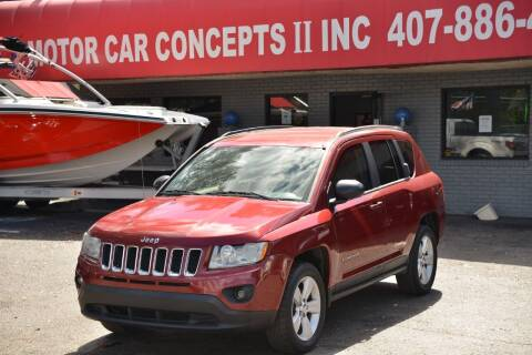 2011 Jeep Compass for sale at Motor Car Concepts II - Apopka Location in Apopka FL