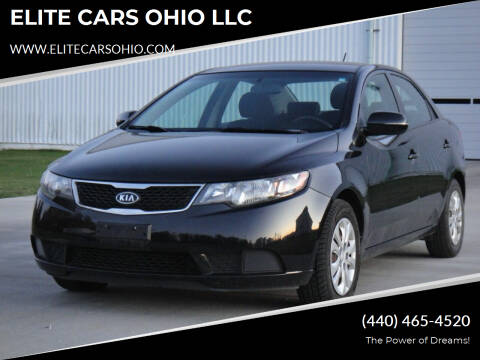 2012 Kia Forte for sale at ELITE CARS OHIO LLC in Solon OH
