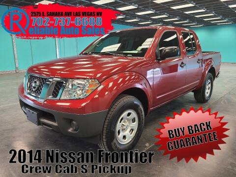 2014 Nissan Frontier for sale at Reliable Auto Sales in Las Vegas NV