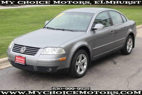 2004 Volkswagen Passat for sale at My Choice Motors Elmhurst in Elmhurst IL
