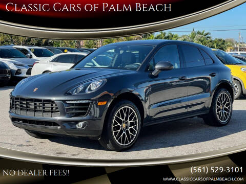 2018 Porsche Macan for sale at Classic Cars of Palm Beach in Jupiter FL