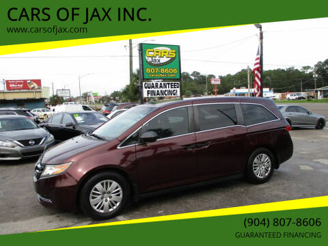 2014 Honda Odyssey for sale at CARS OF JAX INC. in Jacksonville FL
