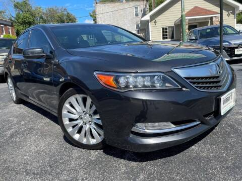 2015 Acura RLX for sale at Murrays Used Cars Inc in Baltimore MD