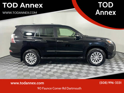 2015 Lexus GX 460 for sale at TOD Annex in North Dartmouth MA