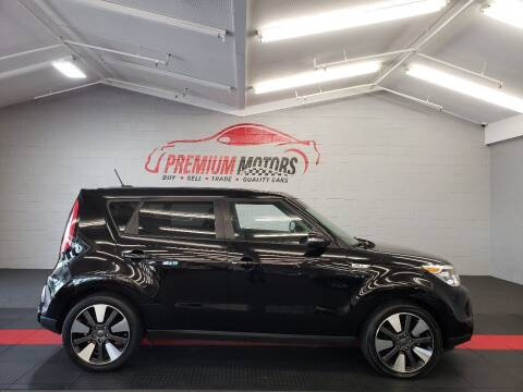 2014 Kia Soul for sale at Premium Motors in Villa Park IL