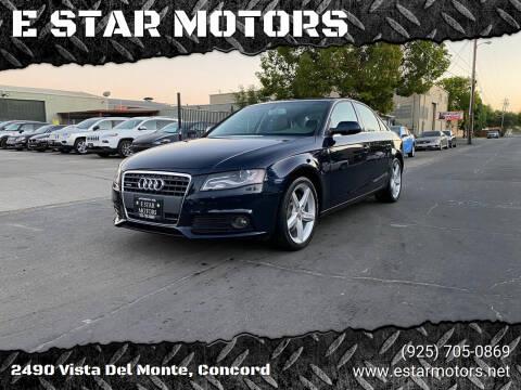 2011 Audi A4 for sale at E STAR MOTORS in Concord CA