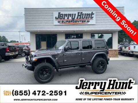 2018 Jeep Wrangler Unlimited for sale at Jerry Hunt Supercenter in Lexington NC