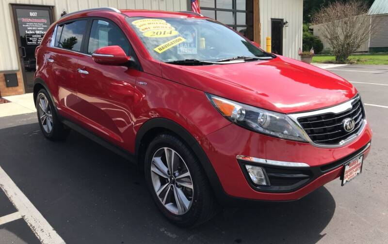 2014 Kia Sportage for sale at Kubly's Automotive in Brodhead WI