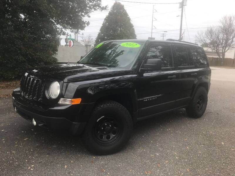 2012 Jeep Patriot for sale at Seaport Auto Sales in Wilmington NC