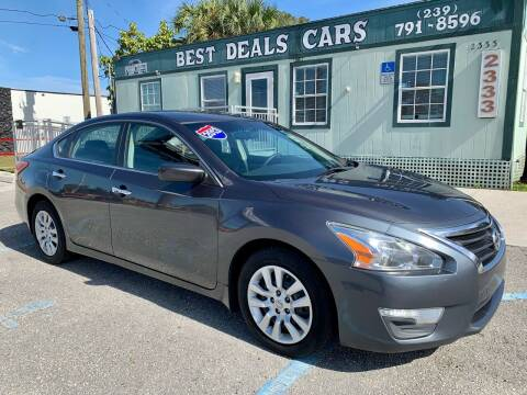 2013 Nissan Altima for sale at Best Deals Cars Inc in Fort Myers FL