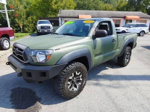 2013 Toyota Tacoma for sale at Kerwin's Volunteer Motors in Bristol TN