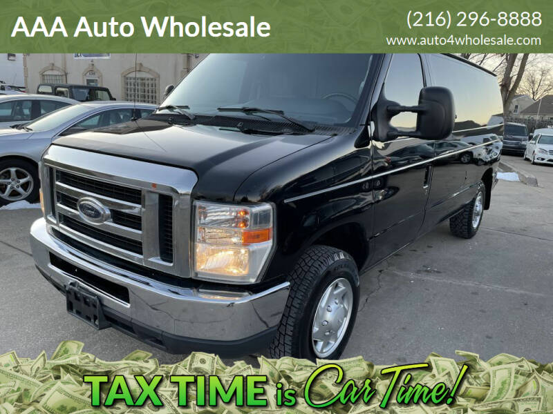 2013 Ford E-Series Cargo for sale at AAA Auto Wholesale in Parma OH