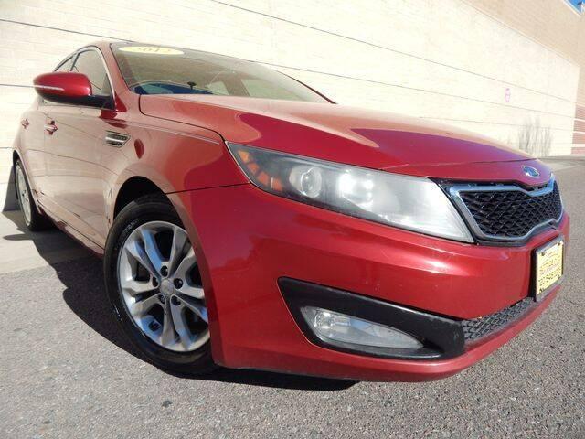2012 Kia Optima for sale at Altitude Auto Sales in Denver CO
