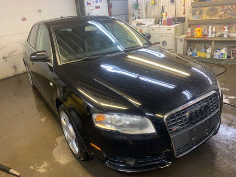 2008 Audi A4 for sale at BURNWORTH AUTO INC in Windber PA